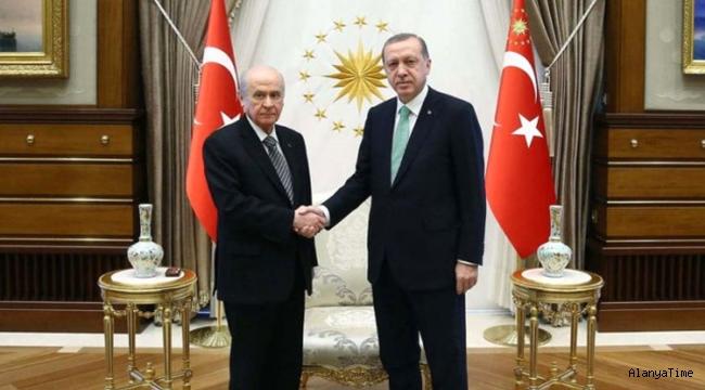 Erdoğan ve Bahçeli, 2023'te mutabık kaldı