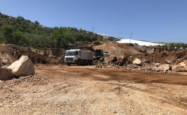 Mahmutlar'da dev tesis çalışmaları sürüyor