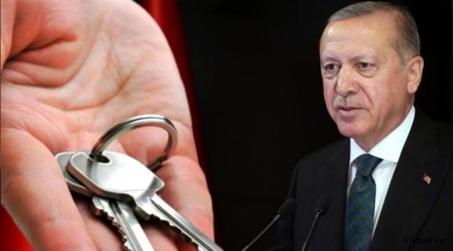 TOKİ'nin 1 milyonuncu konutunun anahtarını ev sahibine Cumhurbaşkanı Erdoğan verecek