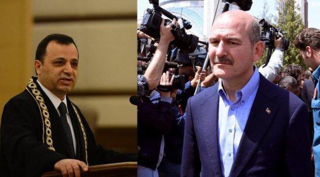 Bakan Soylu, AYM Başkanı Arslan'ı hedef aldı: Polis koruması almana gerek yok. Bisikletinle işe git gel!