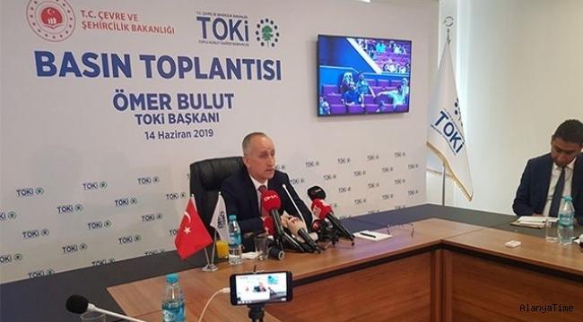 TOKİ Başkanı Bulut, demir ve çimentoya yapılan zamları eleştirdi: