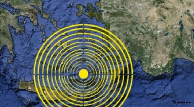 Akdeniz'de deprem: 6 saatte 48 sarsıntı yaşandı
