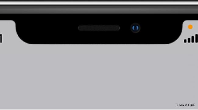 Apple telefonlarda çıkan turuncu nokta ne işe yarar?