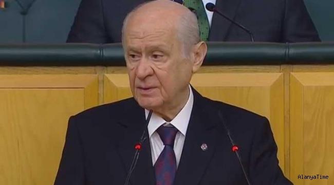 MHP lideri Devlet Bahçeli'den flaş açıklamalar