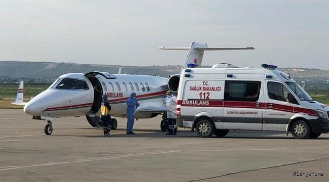 İkinci bir emre kadar; Ambulans uçakla yurtdışından coronalı hasta getirmek yasaklandı