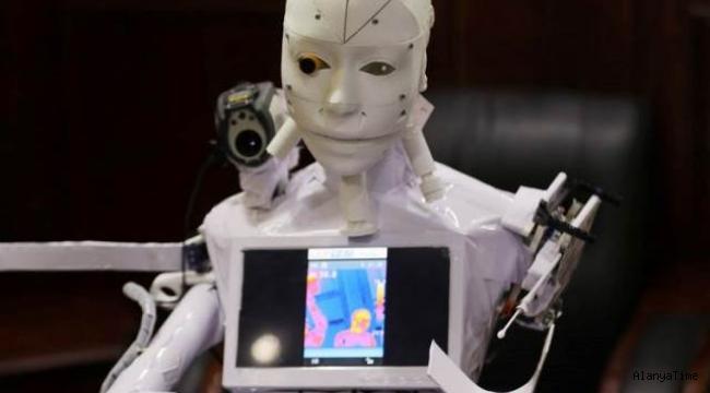 Rus bilim insanları, Kovid-19 testi yapan robotun patentini aldı