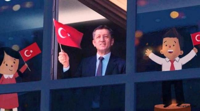 Millî Eğitim Bakanı Ziya Selçuk, 11 OCAK PAZARTESİ SABAHI SAAT 10'DA İSTİKLAL MARŞI'MIZI HEP BİRLİKTE OKUYORUZ