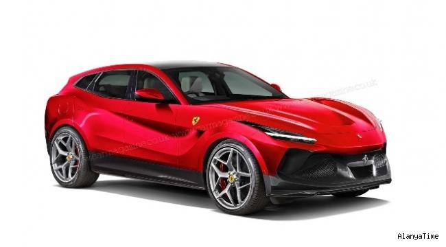 Ferrari'nin ilk tam elektrikli aracı SUV olacak, yollara 2024'te çıkacak