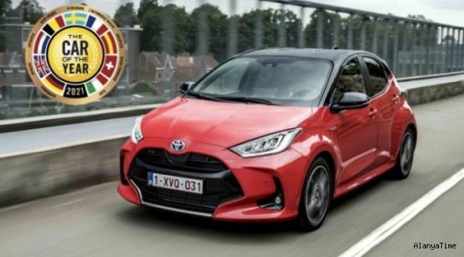 Toyota Yaris modeli, 'Avrupa'da Yılın Otomobili' seçildi